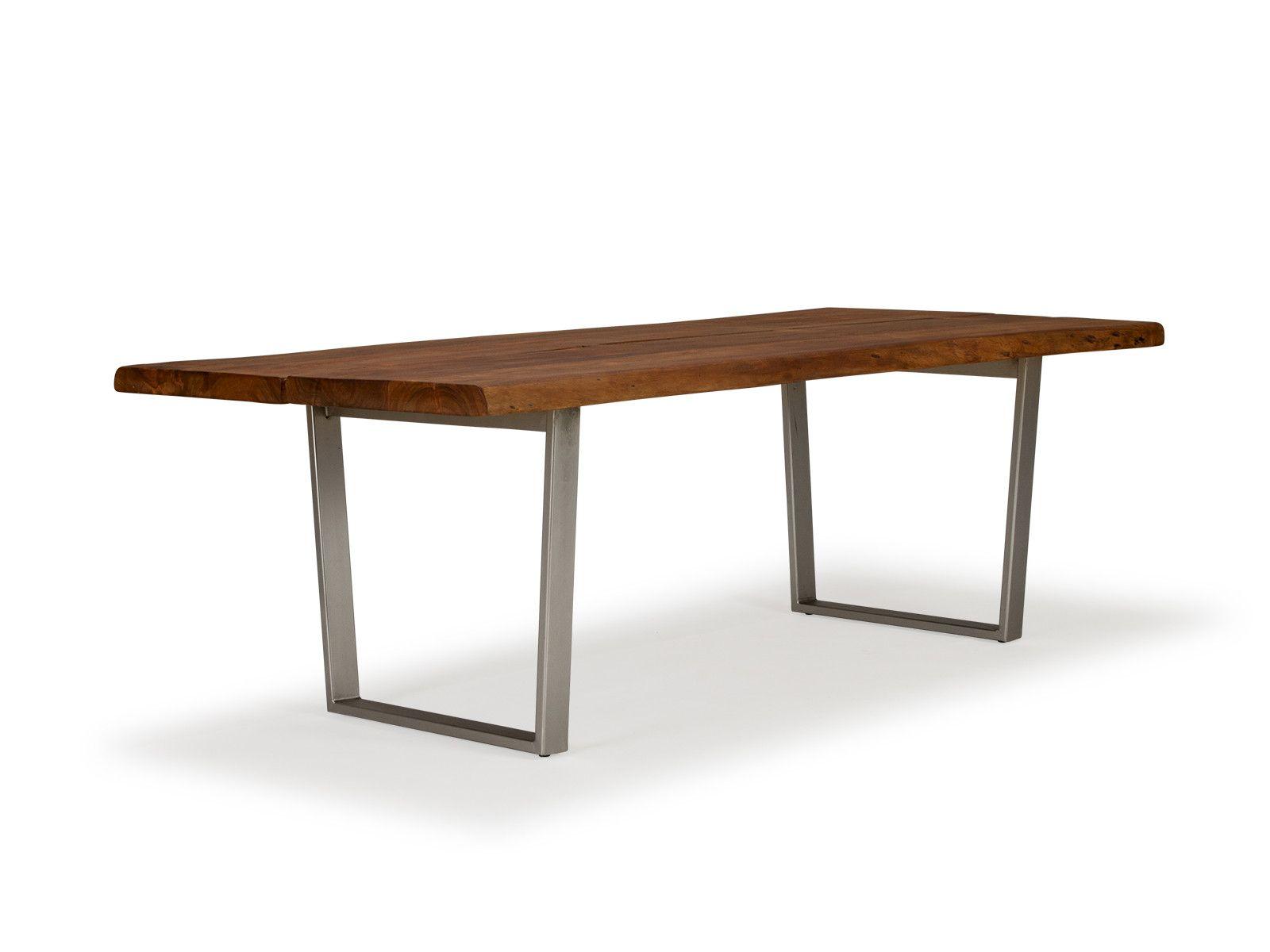 Industriedesign Esstisch Aus Massivholz Akazie Moebeldeal Com Versandkostenfreie Mobel Online Bestellen Esstisch Massivholz Esstisch Esstisch Sessel