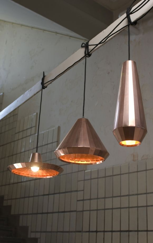 Middle Would Be Interesting In Kitchen Copper Lights By David