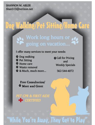 dog sitting flyer - Google Search | Business stuff | Pinterest ...