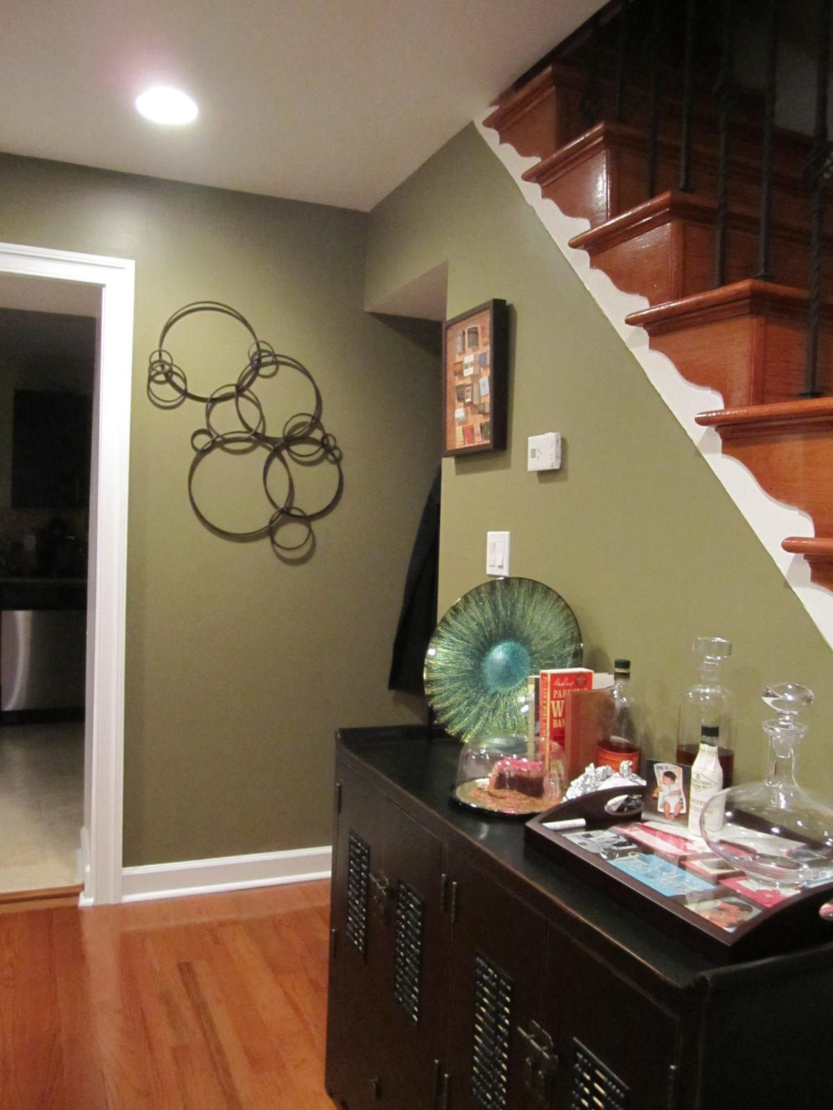 awesome green paint color for accent wall living room | todayandyesterday in 2019 | Accent walls in living room ...