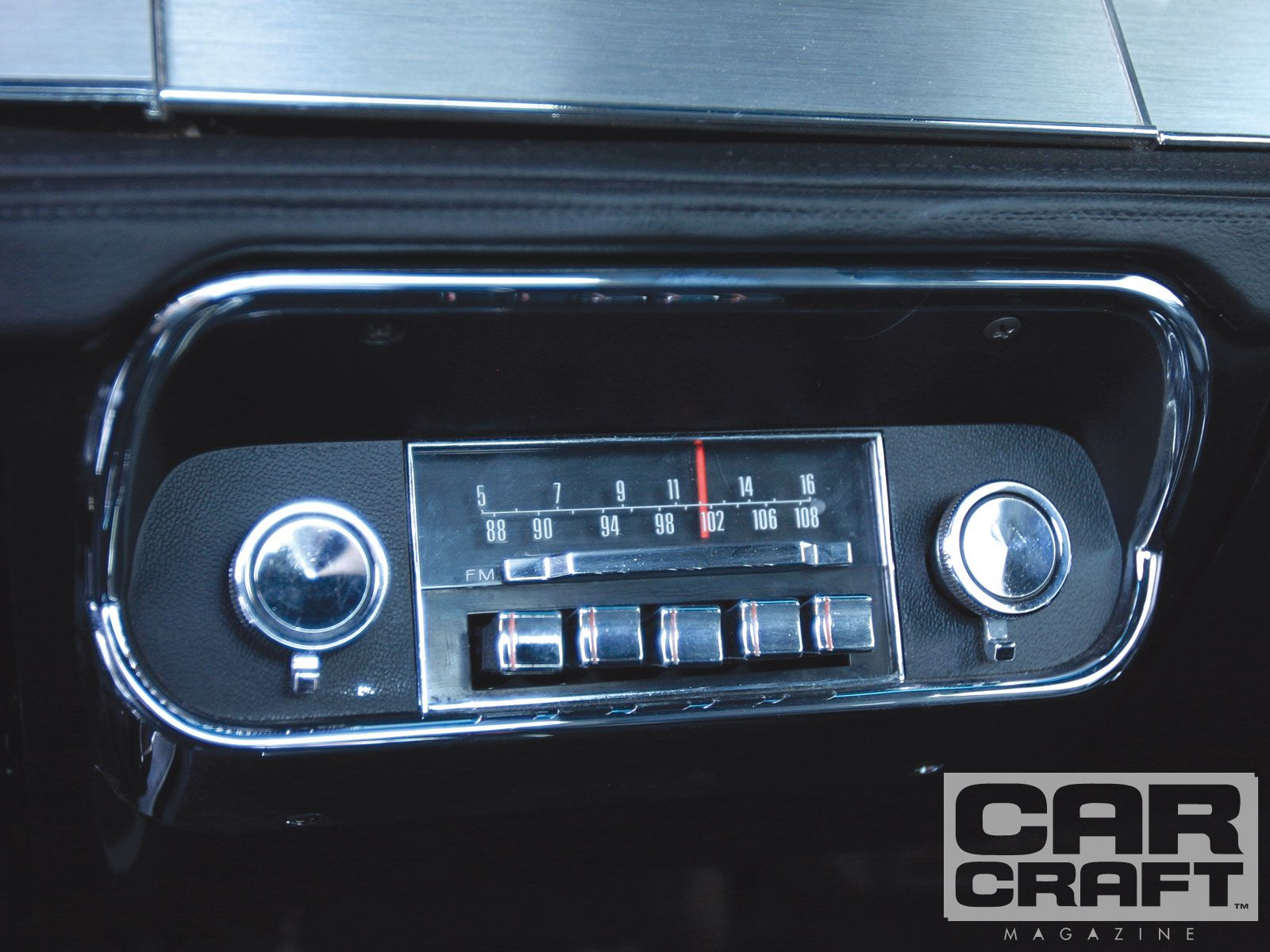 Rare Am Fm 1967 Ford Mustang Radio Large What Is In Cavallo Now