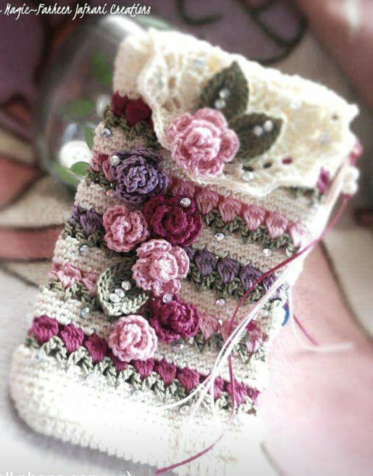 Pin von kauser farrukh auf Crochet Stitch Tutorial | Pinterest