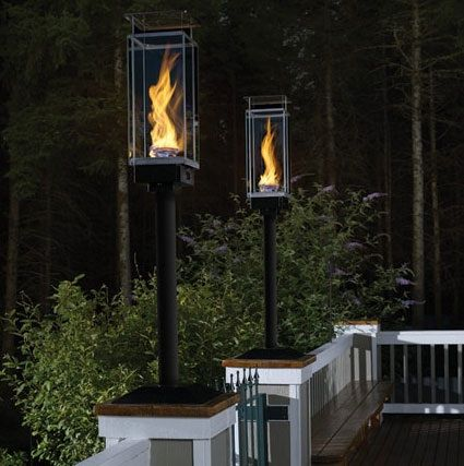 Courtyard Gas Lamps Exterior Of Home In 2019 Outdoor