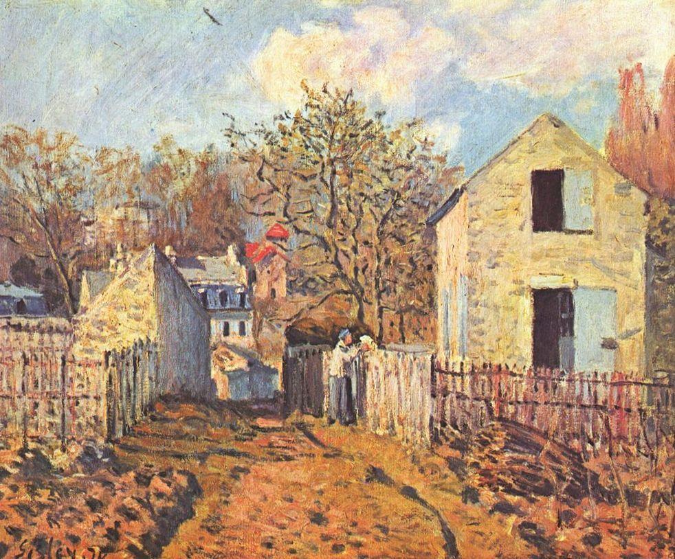 Alfred Sisley - Village de Voisins