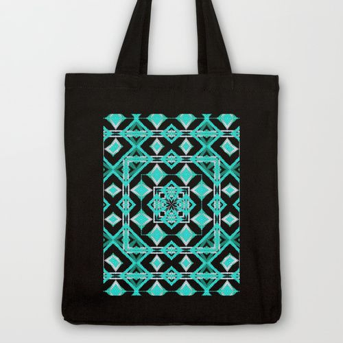 House of Diamonds Tote Bag by Lisa Argyropoulos