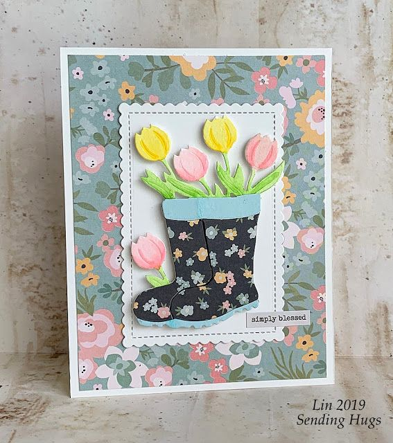 Simon's April Card Kit #cardkit