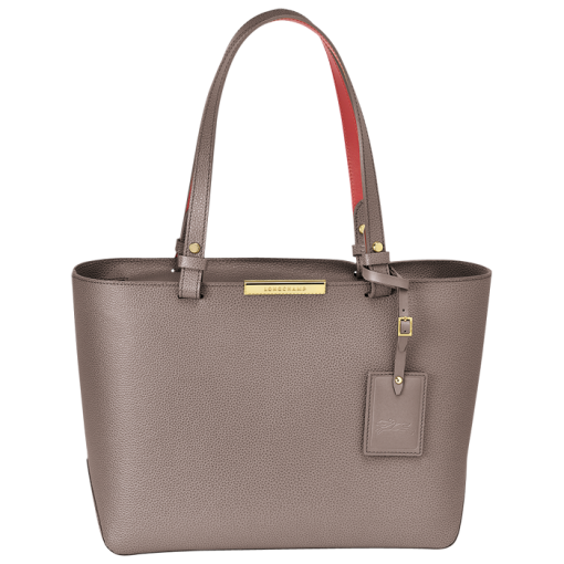 Medium Tote Bag Le Foulonné City Handbags Longchamp Pebble United