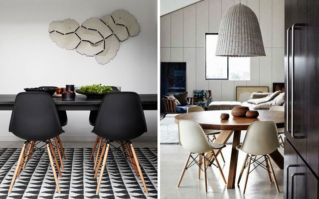 Decofilia blog decoraci n de comedores con sillas eames for Muebles eames