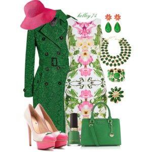 Spring Fling in Pink & Green