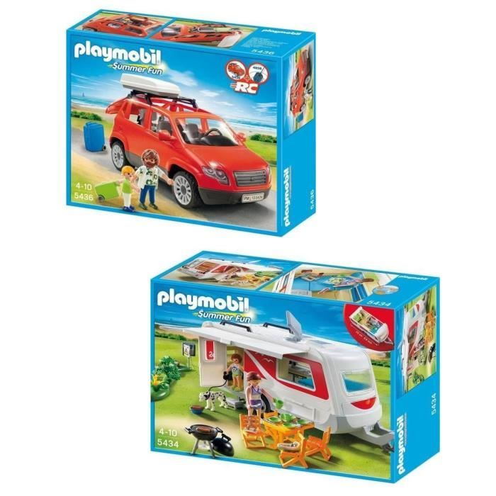 playmobil voiture caravane jeux et jouets pinterest jouet playmobil promo jouets et. Black Bedroom Furniture Sets. Home Design Ideas