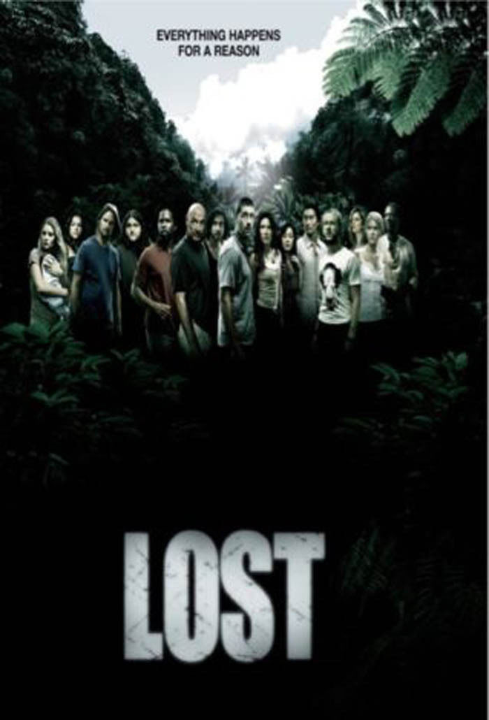 LOST TV Poster The Island ABC Jack Kate Hurley Lock Ben Jacob