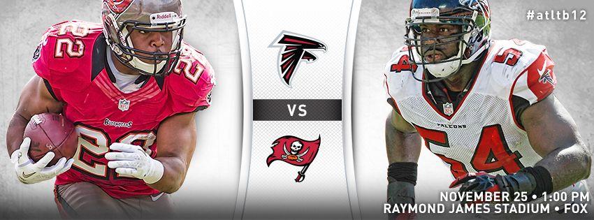 Falcons at Tampa Bay #RiseUp