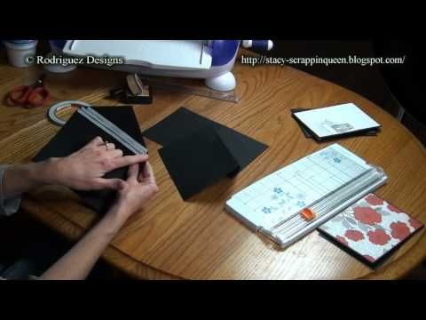 Envelope Mini Album Tutorial Part 1