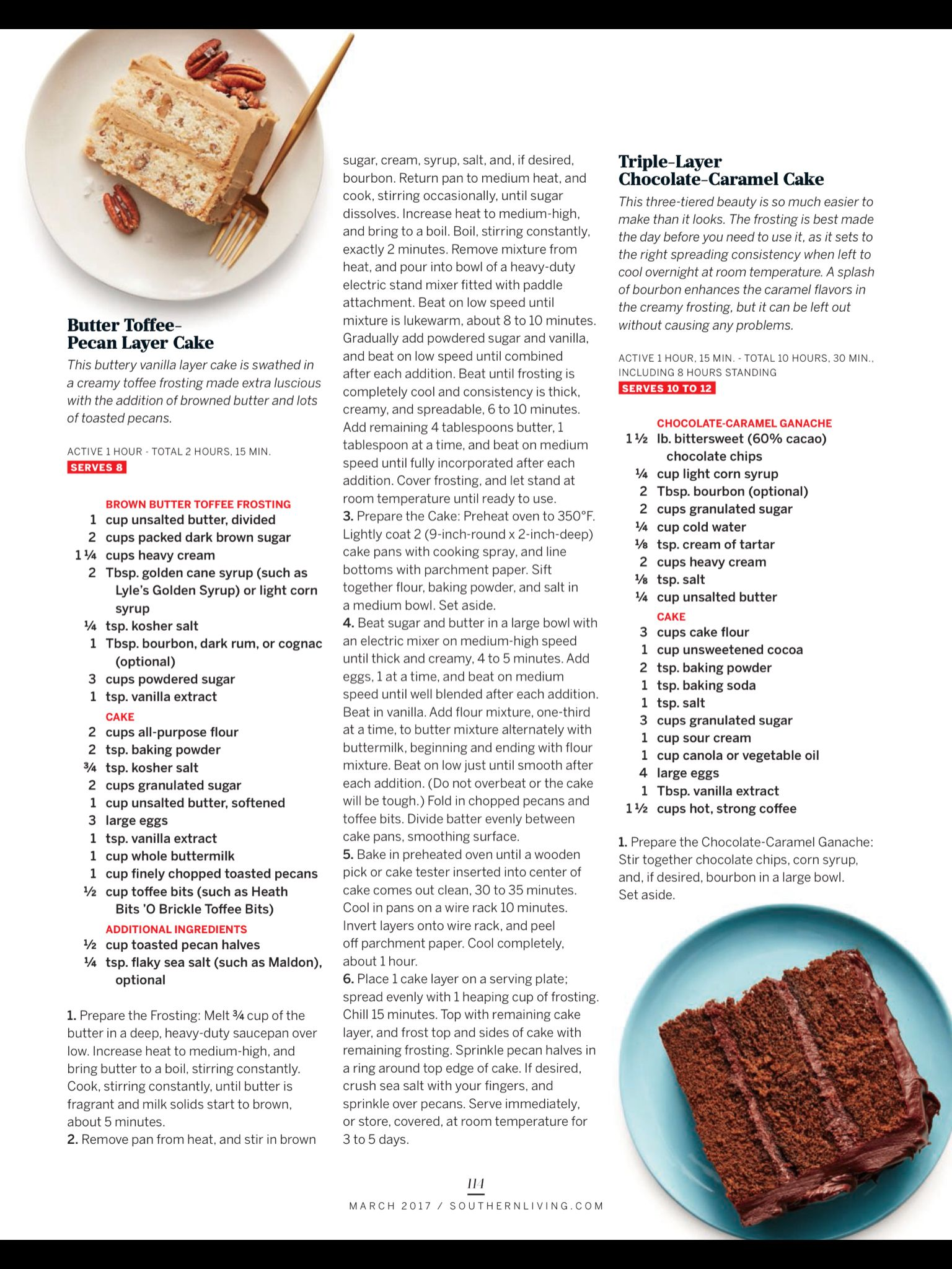 mint chocolate chip cake southern living
