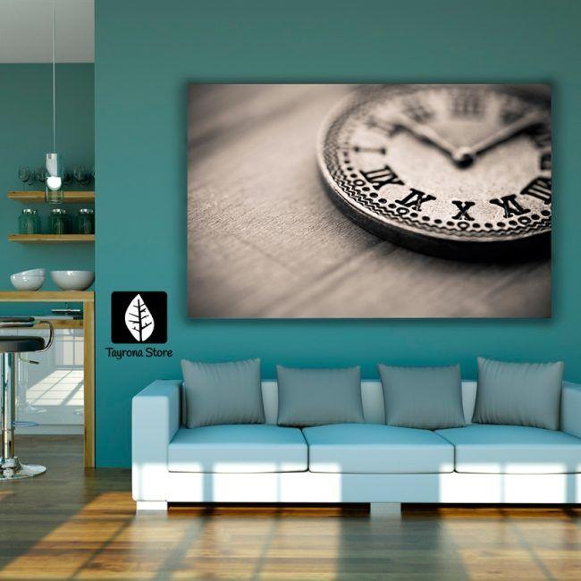 Cuadro Decorativo Tayrona Store Para Sala o Alcoba Reloj