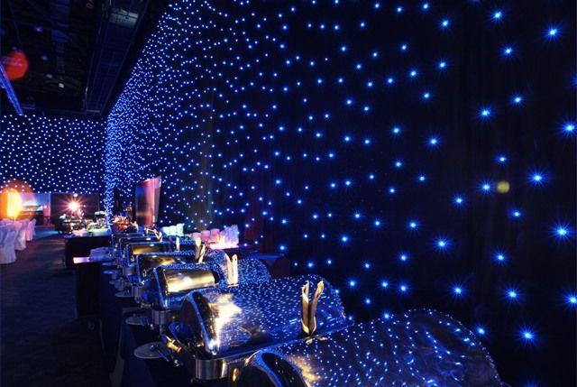 Led Star Drape Futuristic Party Event Lighting Event Themes