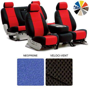 Coverking Custom Fit Seat Covers, 2 Different Materials To Choose From