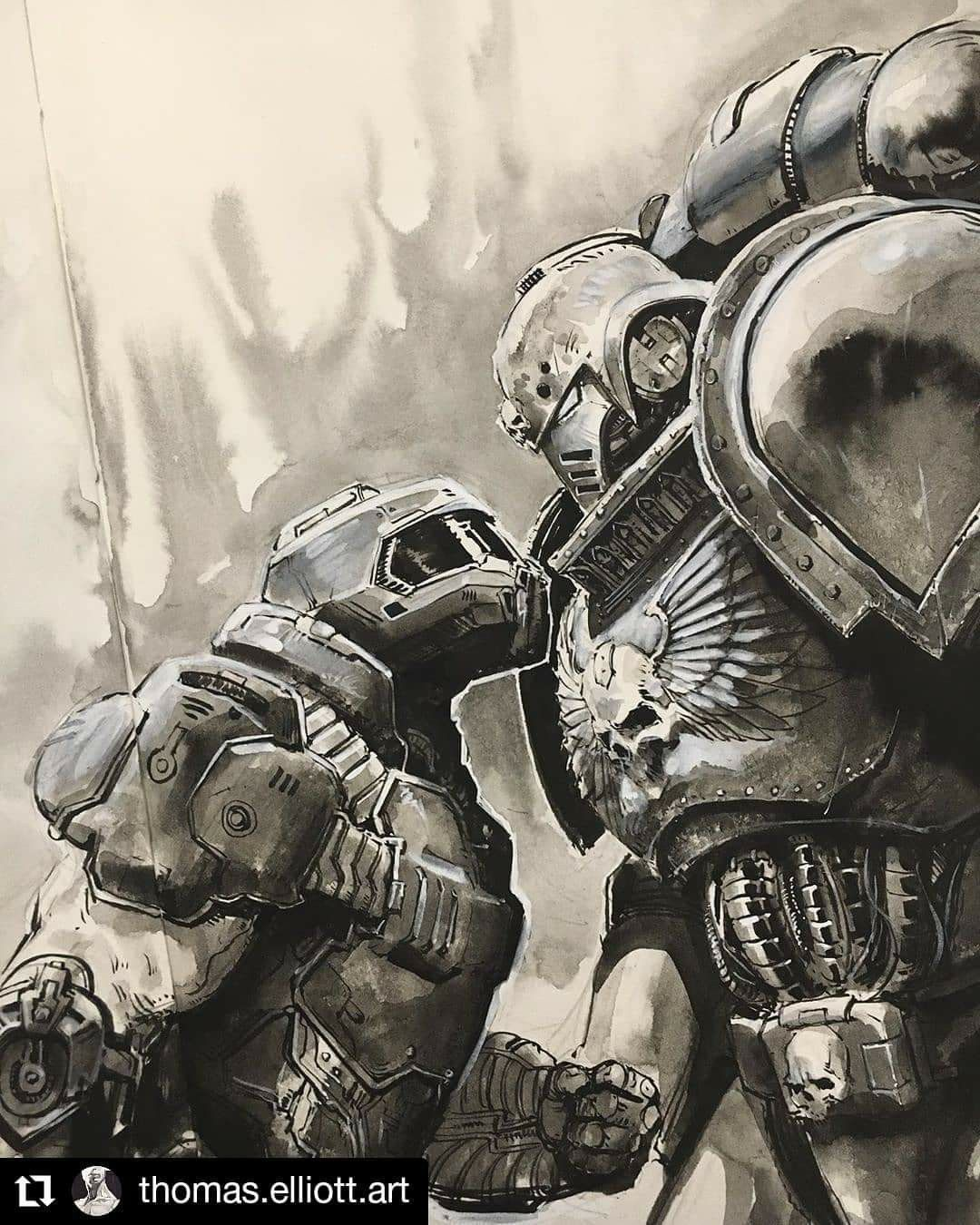 Pin by Lord Marshal Valdar on Warhammer 40k in 2020