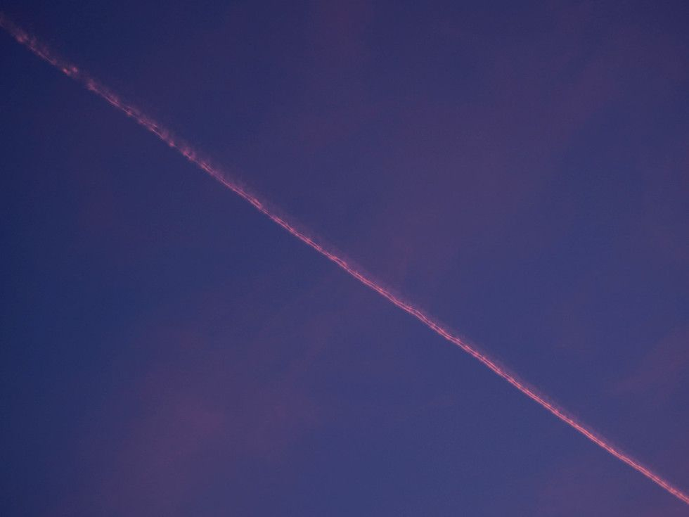 Jetplane and the sunset | Photo: Pupulandia