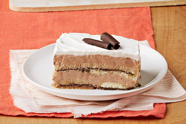 Try your hand at our Chocolate Tiramisu with Cookies! This chilling dessert is perfect for a sweet treat on a hot summer day.