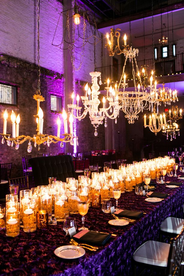 Candlelit and Chandeliers ~ Erin Johnson Photography, mi mi design