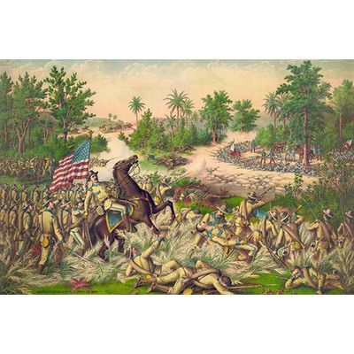 Buyenlarge Battle Of Quingua Philippines I April 23 1900