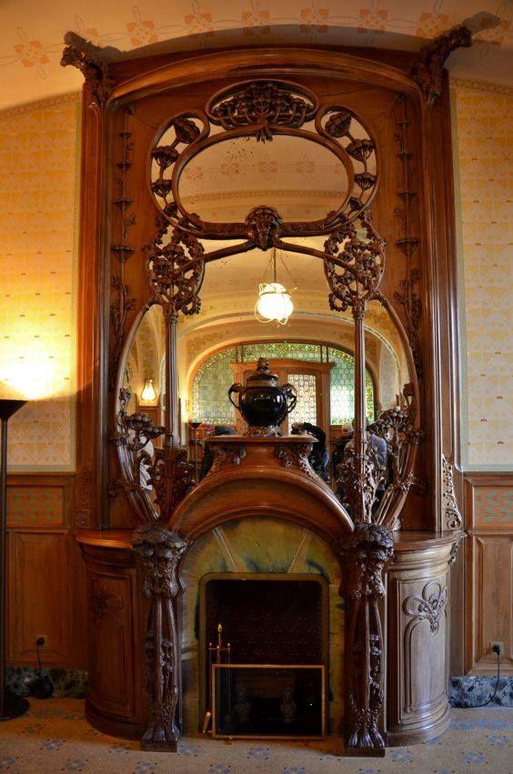 Villa Demoiselle Reims Interieur Art Nouveau Meubles Art Nouveau Art Deco