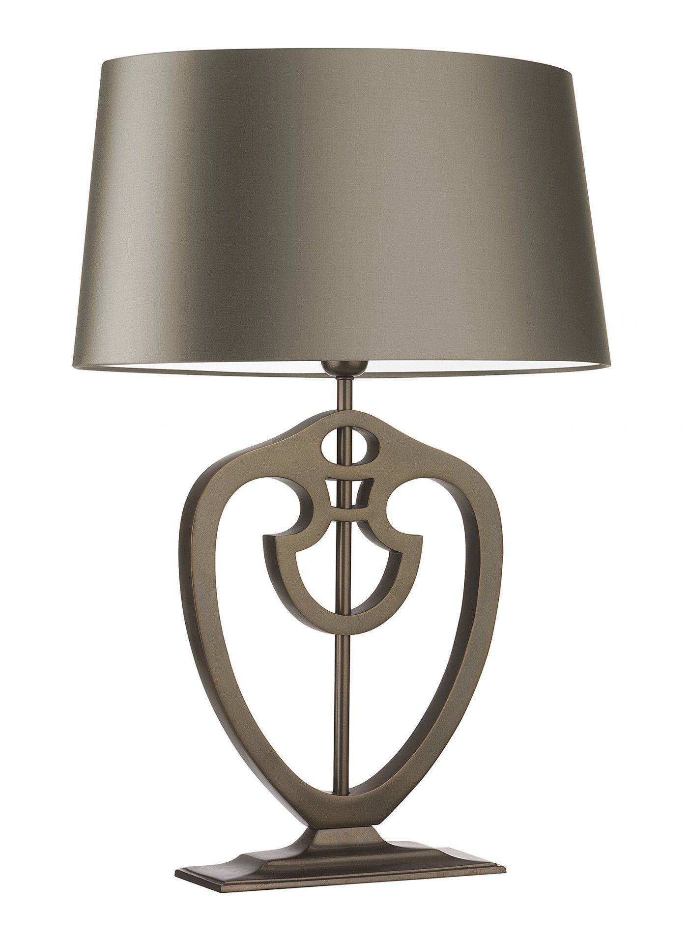 Morris Bronze Large Table Lamp. Inspired by the Arts and