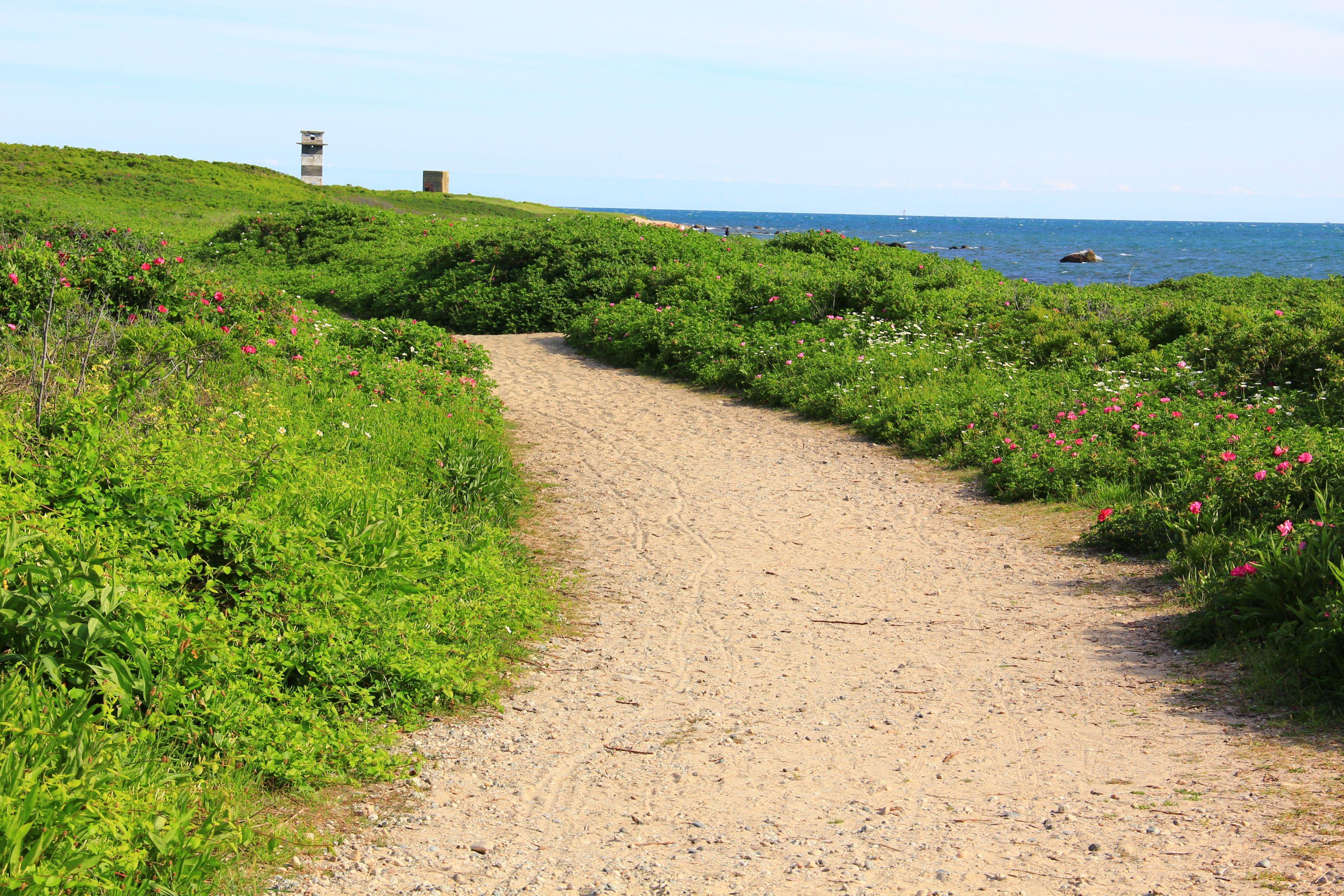 Gooseberry Island In Westport Ma Around Massachusetts