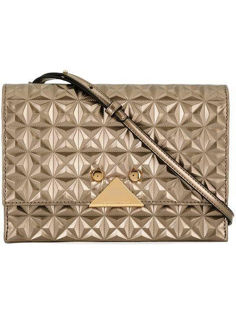 EMPORIO ARMANI Quilted Crossbody Bag.  emporioarmani  bags  shoulder bags   polyester  crossbody  cotton   181b008cba9e9