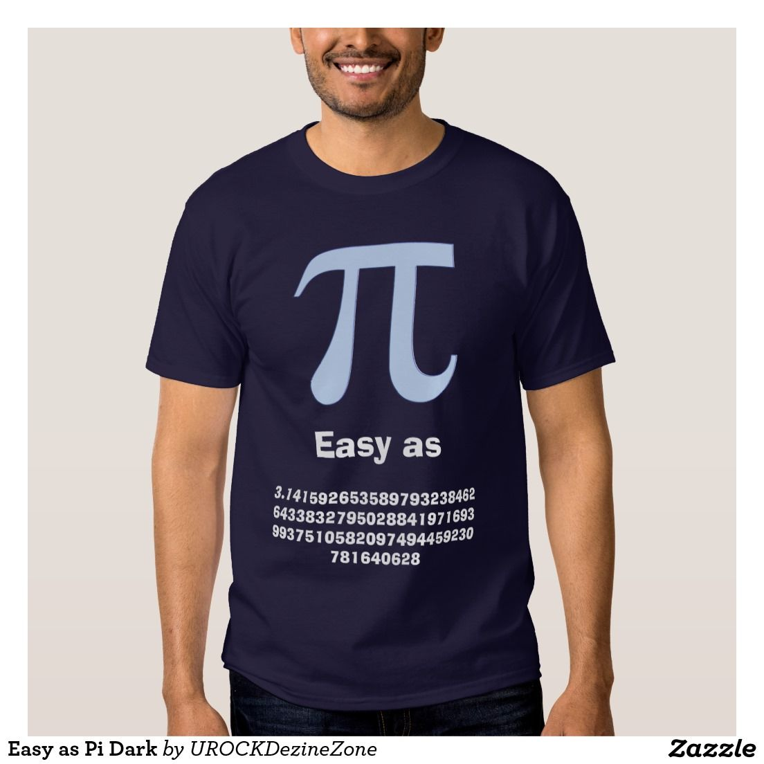 Design t shirt easy - Easy As Pi Dark T Shirt Zazzle