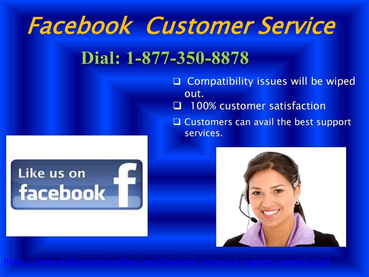 Avail Facebook Customer Service 18773508878 to develop