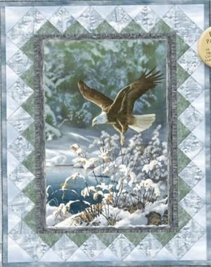 Winter Eagle Quilt Love Home Decor And Organization