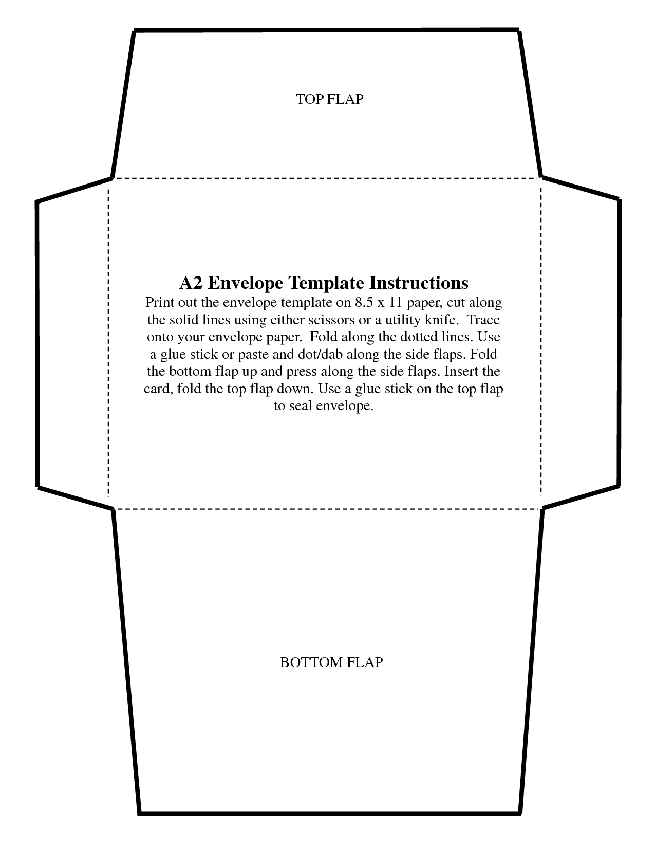 5 7 Envelope Templates Best Templates Pictures Envelope Template Envelope Template Printable Envelope Liner Template