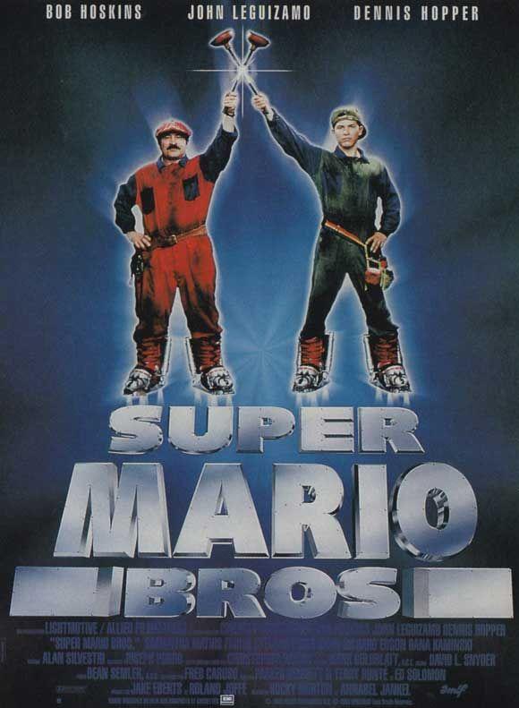 Super Mario Bros Starring Bob Hoskins John Leguizamo Dennis