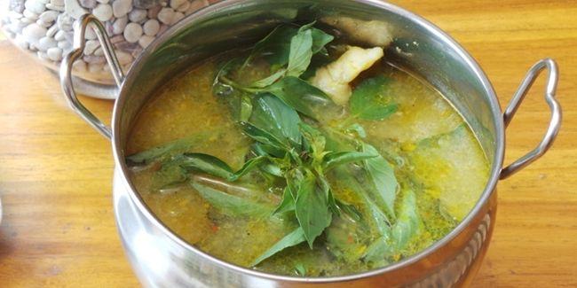 Resep Ikan Dori Kuah Kuning Papua Kedai Nyonya Bintuni Resep Ikan Resep Makanan