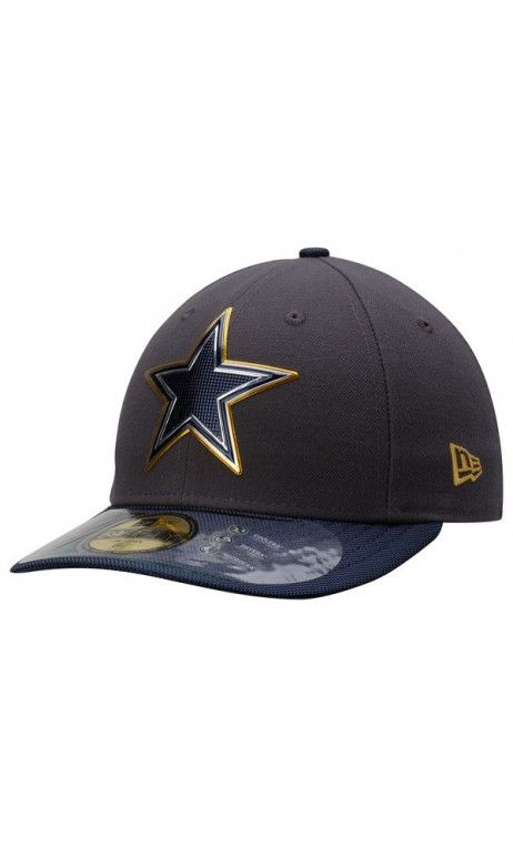 cad0528d100 NFL Men s Dallas Cowboys New Era Gray Gold Collection On Field Low Crown  59FIFTY Fitted Hat  Broncos
