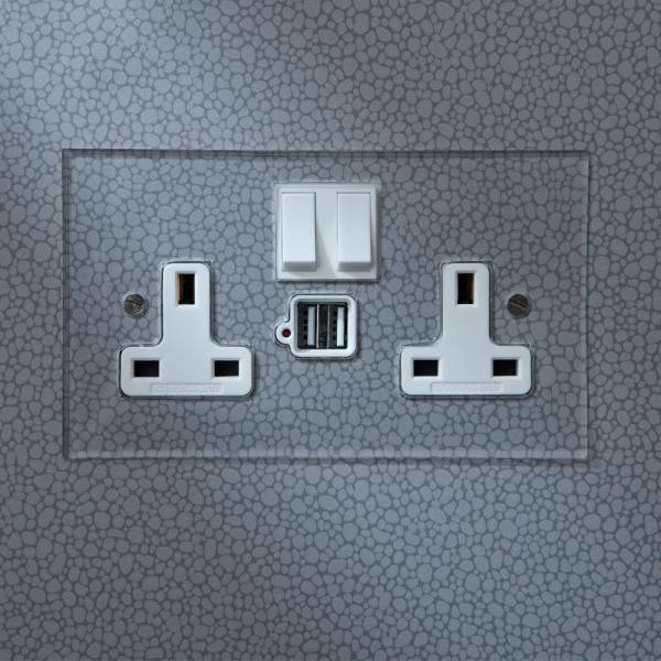 invisible usb charger sockets next to 13amp sockets coming soon