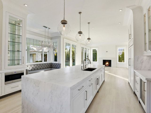 design kitchen lighting. Plain Kitchen Sherwin Williams SW 7005 Pure White SherwinWilliamsSW7005PureWhite Kitchen  Kitchen Design Island On Design Lighting