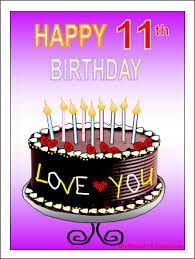 Image Result For Happy Birthday 11 Year Old
