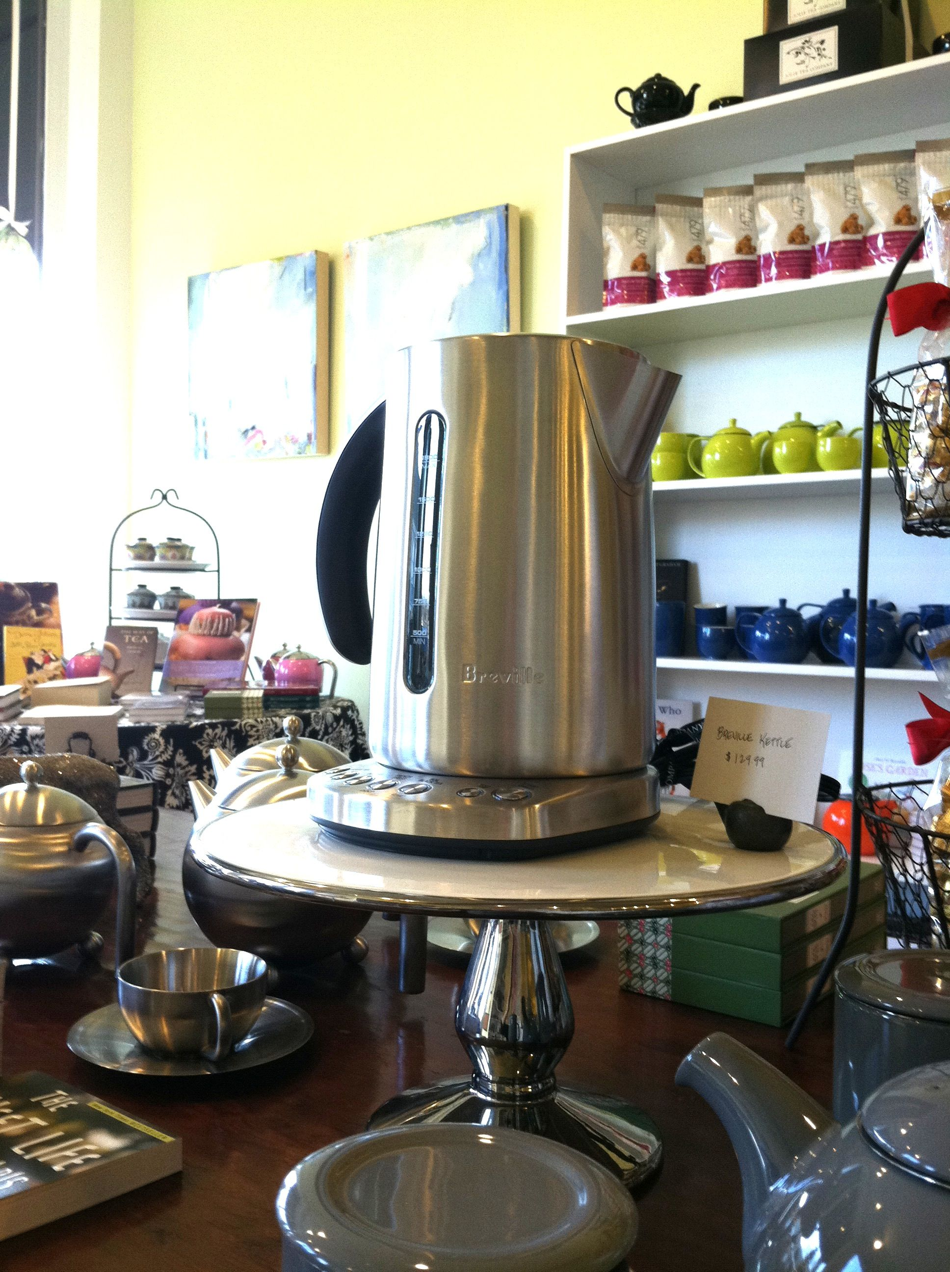 The perfect brew lies with the Breville!