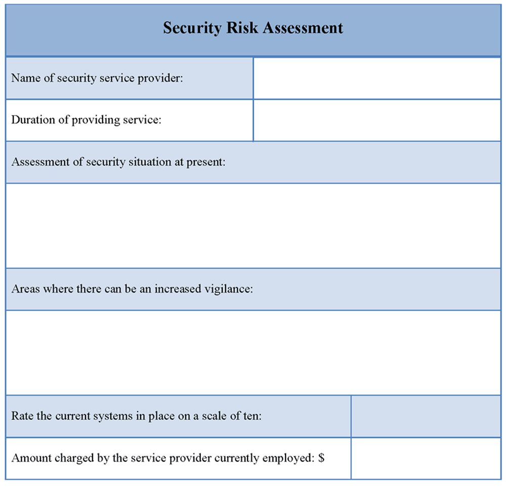 Security Assessment Report Template Pdf With Regard To Physical Security Report Template