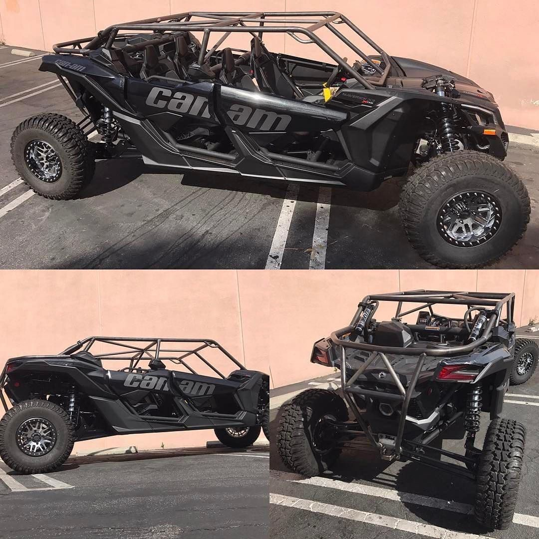 Check Out What Desertworks Just Finished Up With The New Canam Maverick X3 Max X3 X3max Desertworks Vehiculos Todo Terreno Todo Terreno Vehiculos