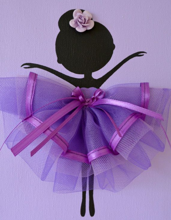 Ballerina Wall Art ballerina tutu canvas wall art | ballerina tutu, ballerina and