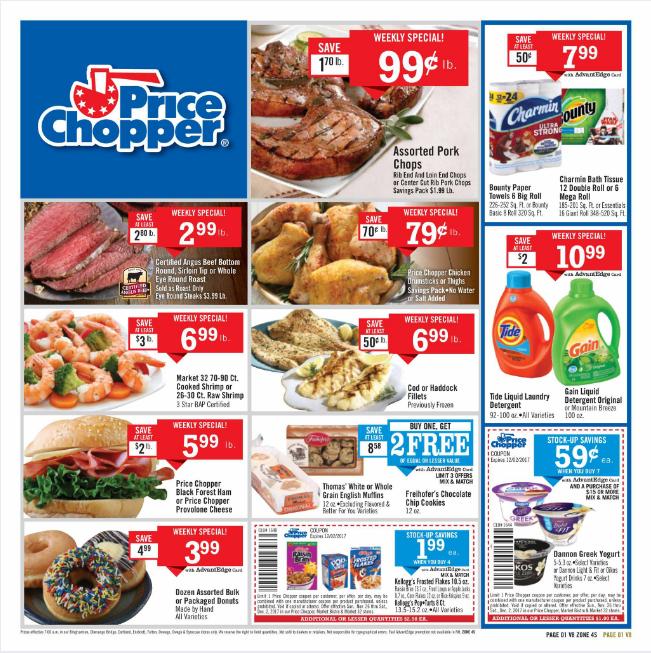 Price Chopper Weekly Flyer November 26 - December 2, 2017 - http://