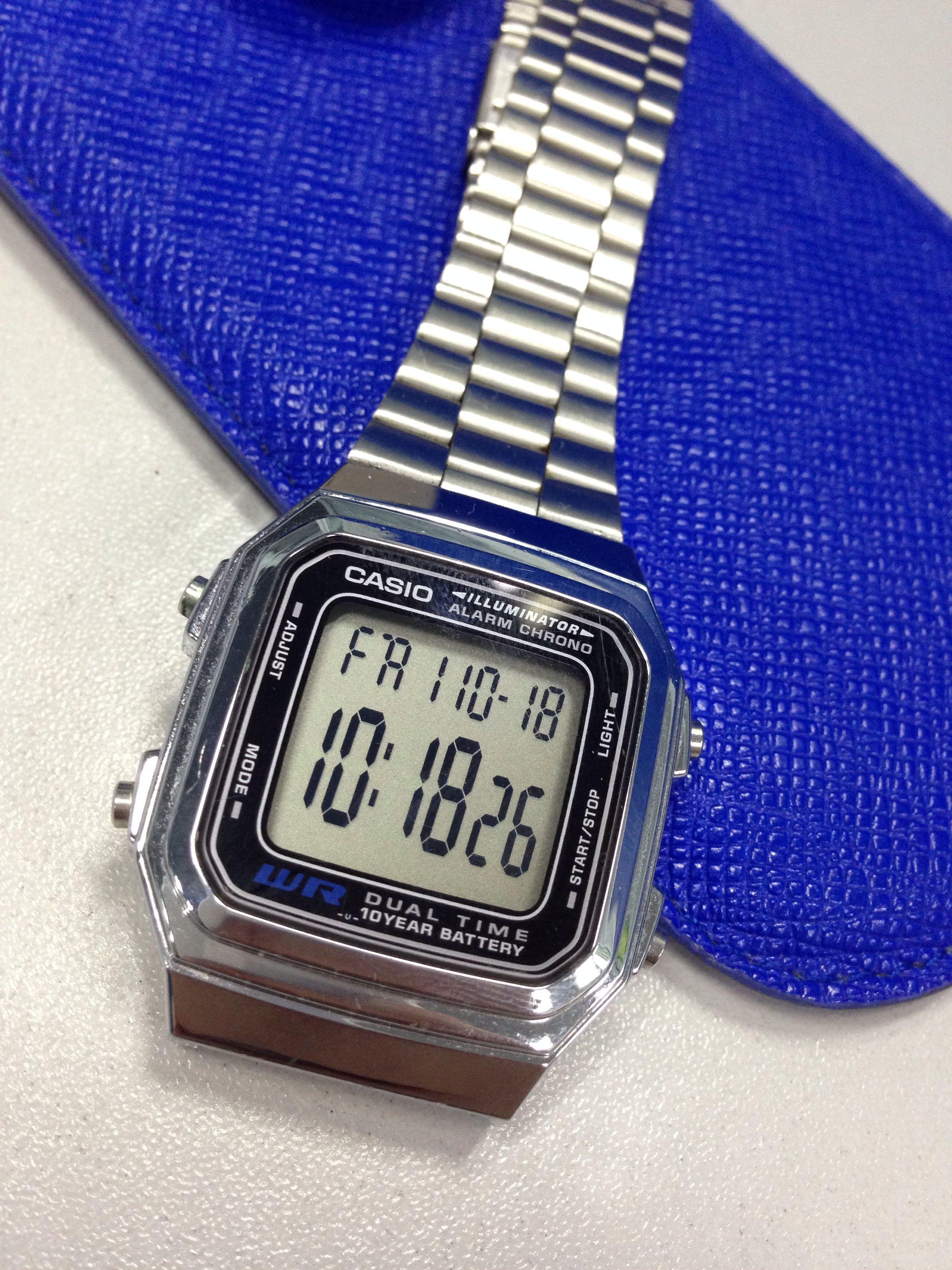 A178w SilverRelojes Reloj A178w Casio Casio In In SilverRelojes wkPX80On