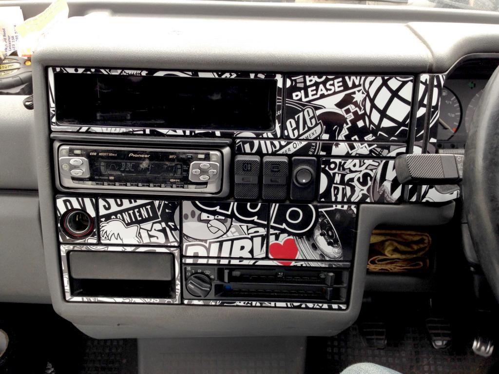 sticker bomb dash transporter t4 caravan ideas pinterest sticker bomb. Black Bedroom Furniture Sets. Home Design Ideas
