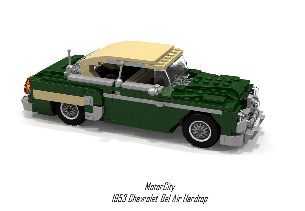Motorcity 1953 Chevrolet Bel Air Hardtop Chevrolet Bel Air Lego