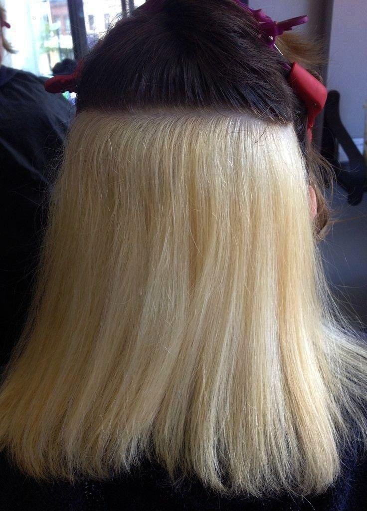 the hair coloring process I feel like Khaleesi   Beginning of the hair coloring process I feel like Khaleesi   start of t Beginning of the hair coloring process I feel li...