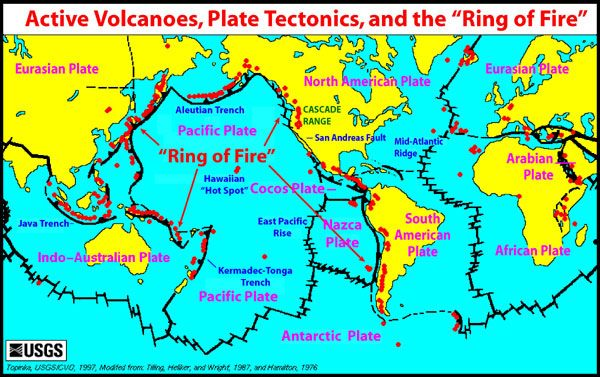 tectonicsworldmap600jpg 600377 pixels  Guatemala  Pinterest